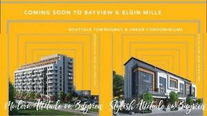 ELGIN EAST AT BAYVIEW NEW CONDOS & TOWNS