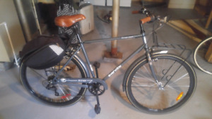 7 speed mens city bicycle
