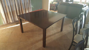 Cherry wood dining set with 6 chairs Windsor Region Ontario image 4