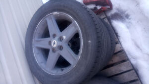 Chev rims and tires 17inch