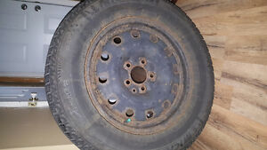 Michelin Snow Tires - used one season