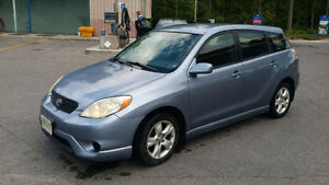 2005 Toyota Matrix XR with remote car starter