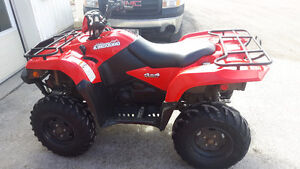 JUST TRADED! - 2012 KINGQUAD 500 POWER STEERING!