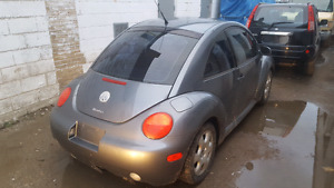 Volkswagen Beetle 1.8L Turbo $2800 OBO Gray sunroof AC