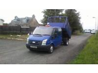 Ford Transit 2.4TDCi Doublecab Tipper