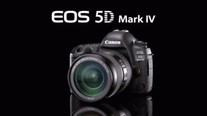 BRAND NEW CANON EOS 5D MARK IV BODY