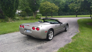 Corvette convertible.