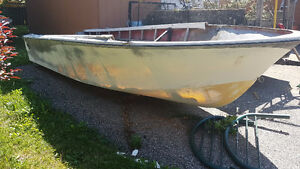 FREE  BOAT - 16ft shell/hull