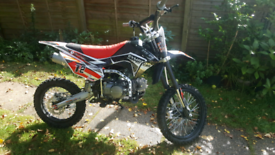 125 pit bike and gear