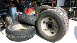 FORD Rims 8 bolt pattern