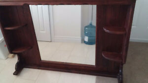 'All Wood' -Mirror unit for Dresser Peterborough Peterborough Area image 6