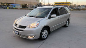 2004 Toyota Sienna LE,8 Pass,Low km, Certified,3/Y Warranty avai