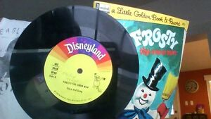 Thirteen Walt Disney Vinyl Records with Read Along Books-reduced