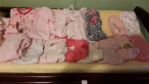 Baby girl clothing lot nb to 3 to 6 Kingston Kingston Area image 1
