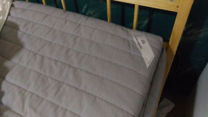 Double Ikea mattress and bed frame
