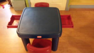 Tables et chaises enfants