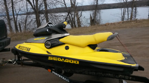 99 SEADOO XP 1000 951 2 STROKE WITH TRAILER