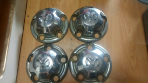 Dodge Ram 5 Bolt Hub Cap Set