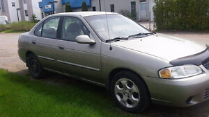 2003 Nissan Sentra Berline (NÉGOCIABLE)