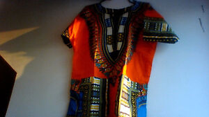 African fabric brand new shirts