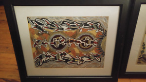 Australian Aboriginal Art on Canvas