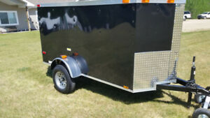 New4x8 2019 V Nose Cargo Trailer 8X4 light weight  5 7 10 6