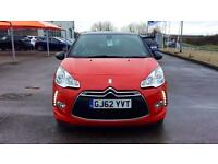 2012 Citroen DS3 1.6 VTi 16V DStyle Plus 3dr Manual Petrol Hatchback