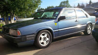 1987 Volvo 780 Coupe V8 swapped
