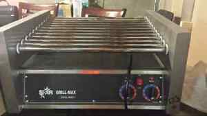 Grill max hot dog grill