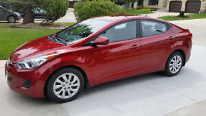 Well maintained low mileage 2013 Hyundai Elantra GL