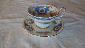 Ad7- Vintage Bone China Cups & Saucers - $15.00 +