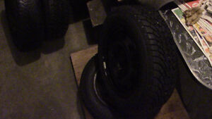 Winter tires with rims Stratford Kitchener Area image 3