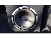 "Vibe slick slr 12"" sub and built in amp"