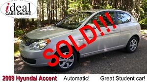 2009 Hyundai Accent Hatchback--  SOLD!   SOLD!!