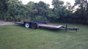 Man with truck and trailer for hire