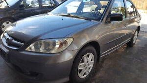 2005 Honda Civic SECIAL EDITION SEDAN.. GREAT CAR IF YOU KNOW HO