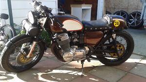 74 Honda CB750 cafe racer