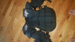Vaughn youth goalie chest protector