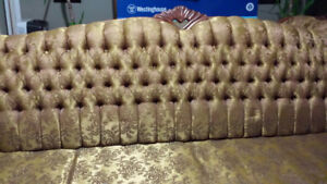 Antique French Provinical Sofa and Chair