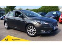 2015 Ford Focus 1.6 125 Titanium Powershift (N Automatic Petrol Hatchback