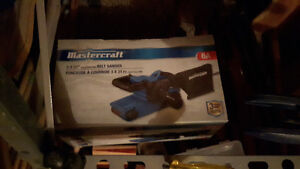 Mastercraft 3x21 belt sander BRAND NEW
