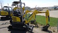 EZ17 Wacker Neuson Mini Excavator