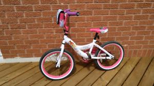 GIRLS 18 INCH PRINCESS BICYCLE