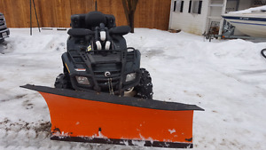 06 Can Am Outlander Max 800 H.O. with plow.