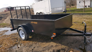 New Rainbow Utility Trailers