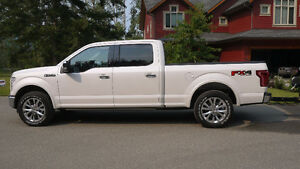 2015 Ford F-150 SuperCrew Black Leather Bucket Pickup Truck