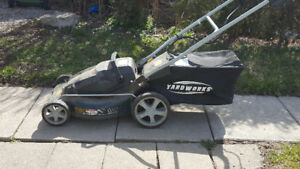 Cordless Yardworks Lawnmower