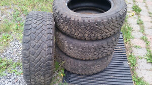 225-60-16 winter tires.use only one winter