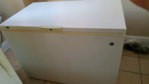 Selling deep freezer with large capacity.