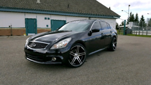 10 INFINITI G37xS AWD CARSTARTER HEAT LEATHER WINTER TIRES